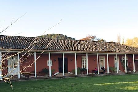 ZÚÑIGA: CASA TÍPICA CHILENA  - Casa
