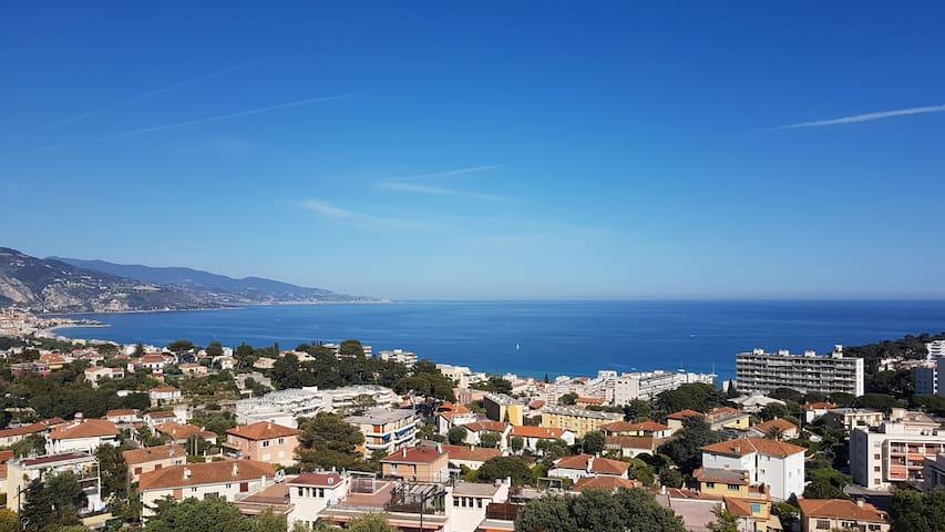 Appartamento panoramicissimo a Roquebrune - Roquebrune-Cap-Martin - Byt