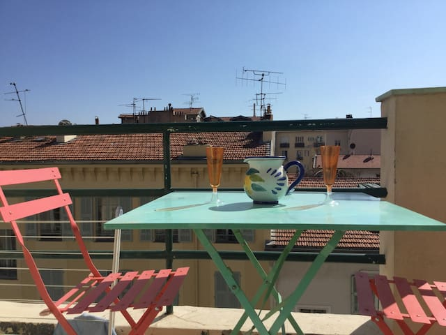 Studio CARRE D'OR AIR CONDITIONING - TERRACE South