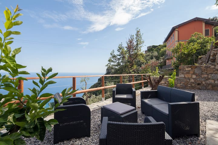 Apartment Vernazza Hill #2 - SeaView TerraceGarden