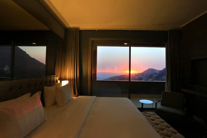 Valley View | Hotel Apt | Balcony | 1BR | Ehden