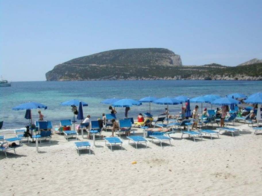 Casa del Lentisco - Resort's private beach under Capo Caccia promontory