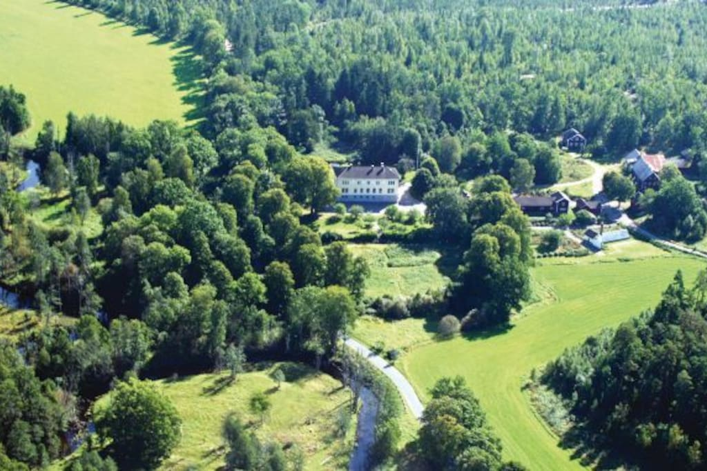 Kristinebergs gård och Målilla älgpark!