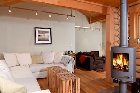 Modern, Rustic Cabin in the Woods - Wilson