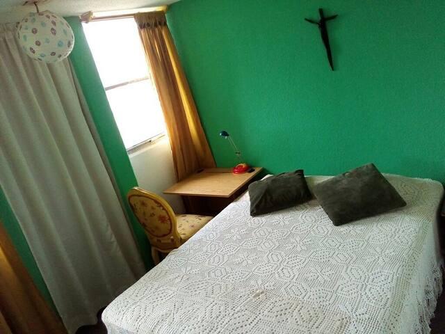 Habitación esmeralda