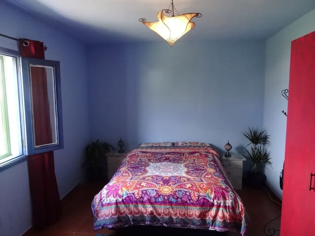 Double room in a Maroccan, ethnic style house. - Teror - House