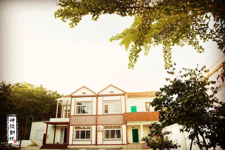 禅隐别院 威海国际海水浴场独栋别墅千坪私人院林