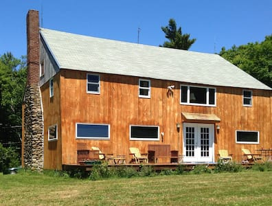 Rustic Blueberry Mountain Lodge - Harrisville - Haus