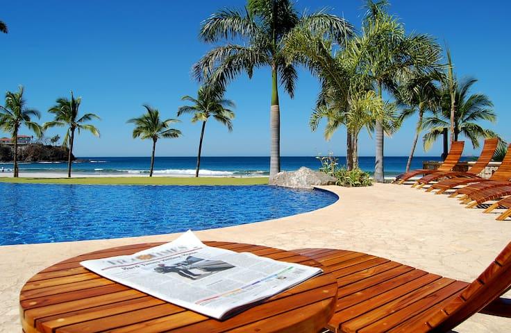 palms oceanfront villa