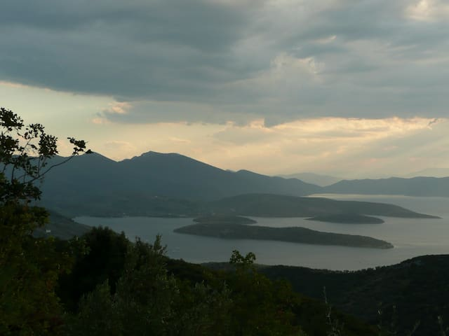 Landschaft Süd-Pelion