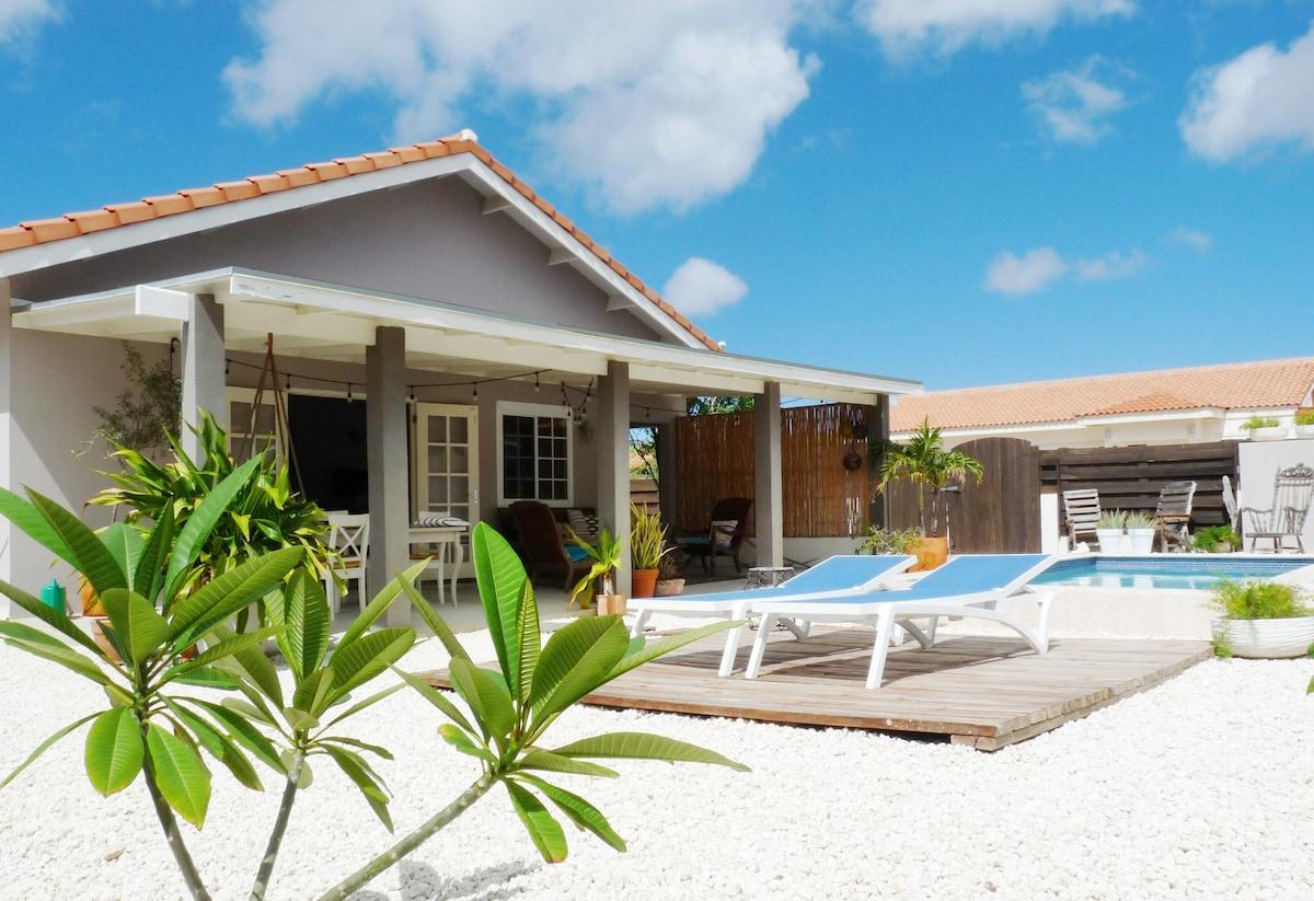 Cas barbola eigentijds huis met privé zwembad huizen te huur in