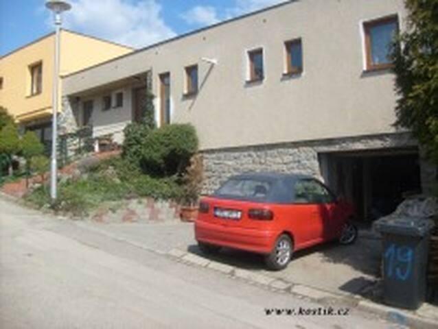 Soukromý byt v domě Boskovice. Cena za celý byt.