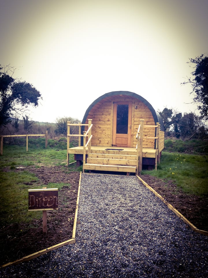 Carrigeen Glamping - The Direen Pod