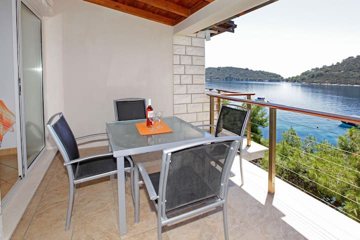 One bedroom apartment near beach Karbuni, Korčula (A-18137-c)