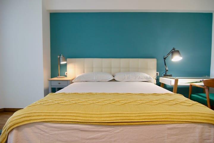 Precioso dúplex un dormitorio: todos los detalles.