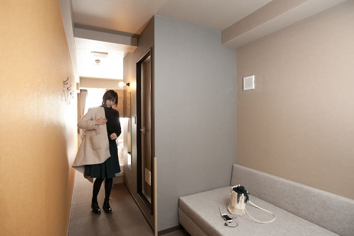 Unique Stay in Kanazawa Central, Double Bed Bunk!