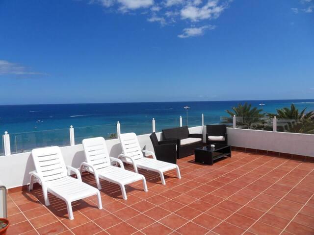 Perfect Studio, beach front!  - Maspalomas - Apartamento