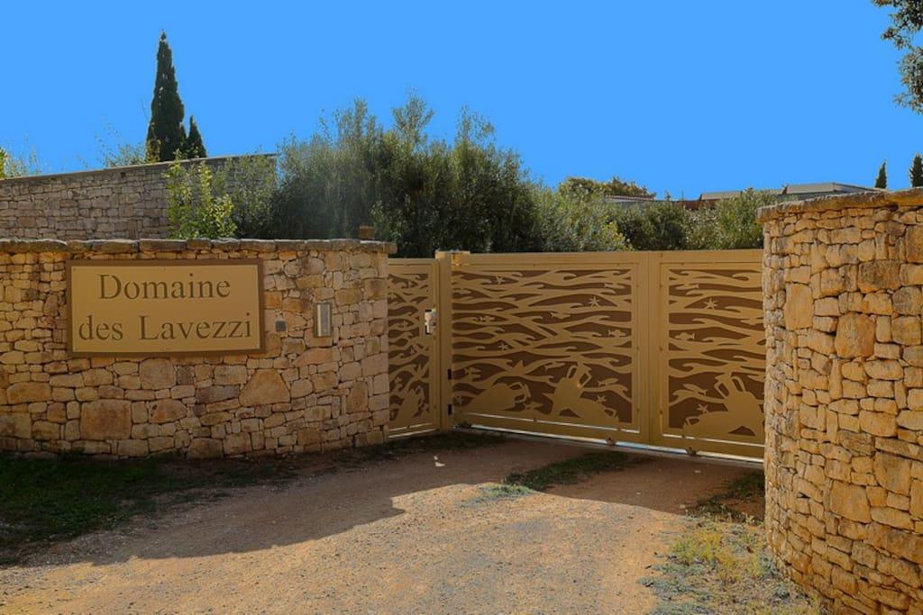 portail entrée propriété