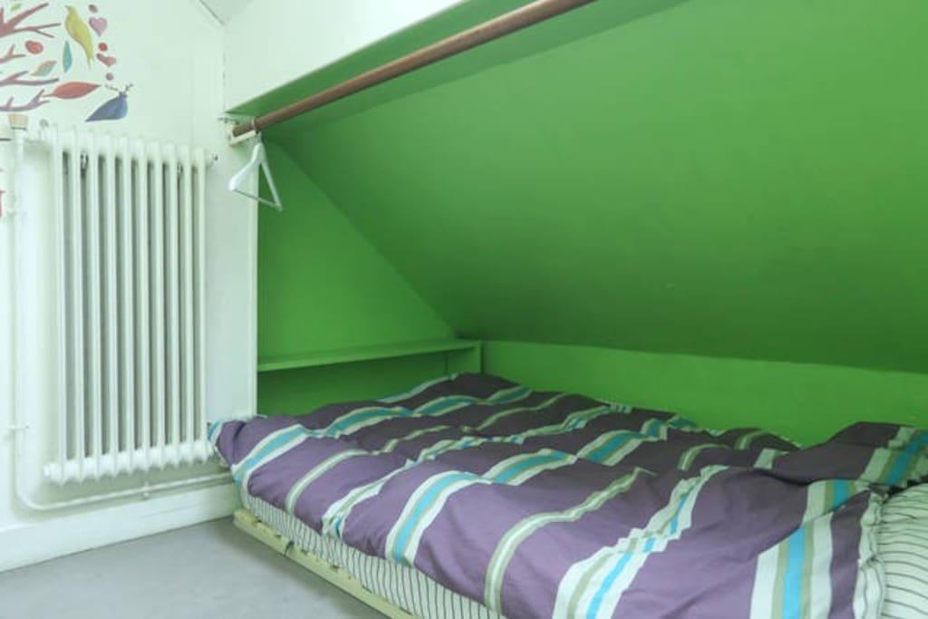 La chambre est petite...