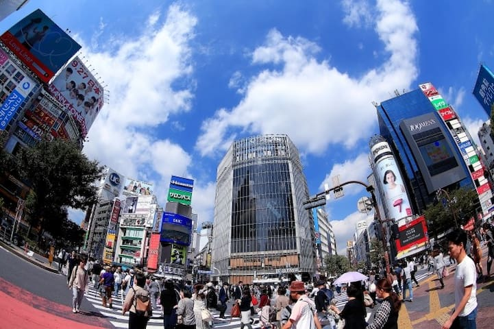 Central Shibuya!! Private Apartment 5pax FreeWi-Fi