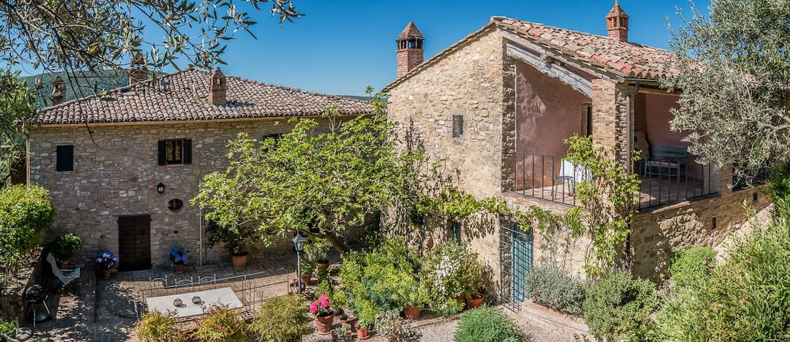Charming home in Umbrian hills - Monte Corona - Appartement