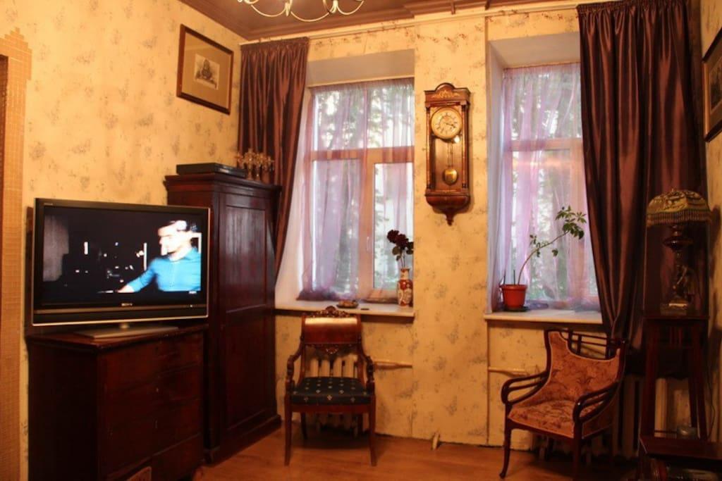 Жилая комната 1