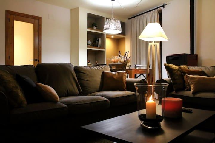 """""""Family"""" - Acogedor apartamento de montaña."""
