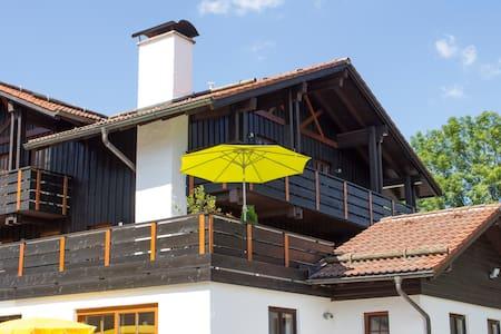 Ferienwohnung Breitenberg mit Bergblick und Kamin - Pfronten - Apartment