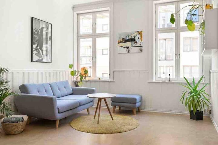 Lovely flat in trendy Grunerløkka