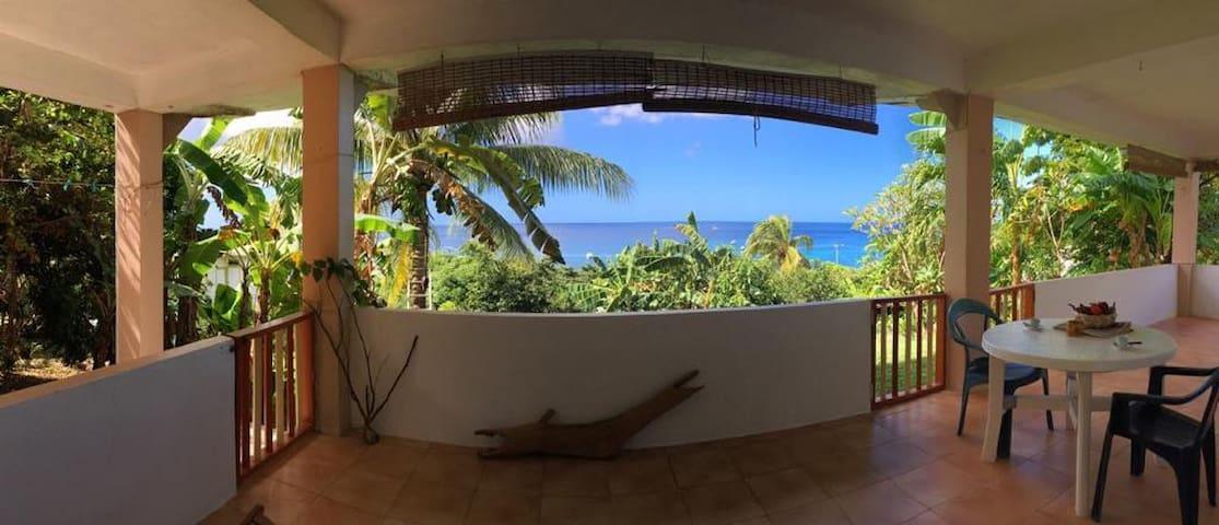 Grand Mal sea-view and beach private apartment