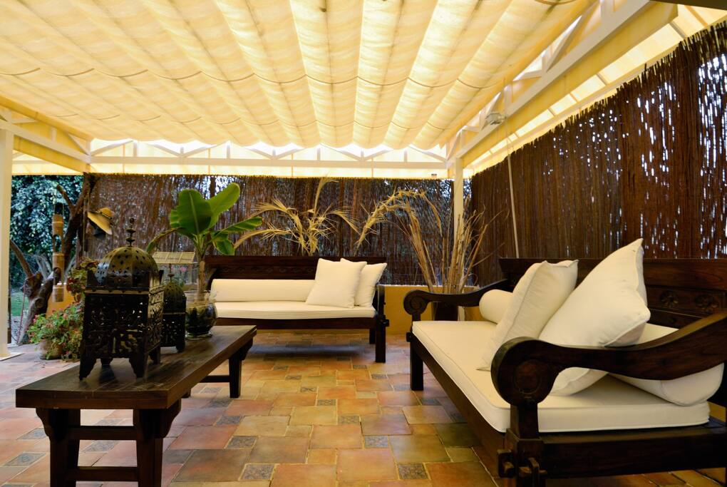 Zona chill out/solarium