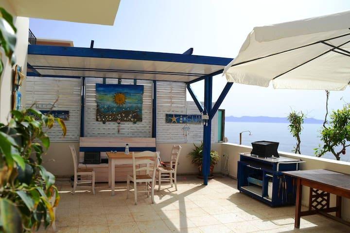 Beach Front 3bd  family summer  House near  Polis