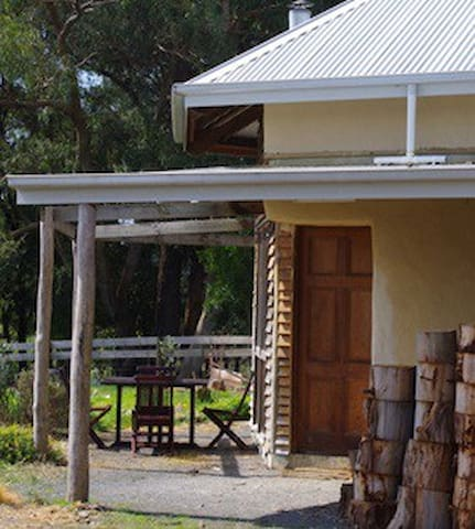 Unique and individual - Forrest Strawbale Cottage is the perfect place to stay in Forrest!