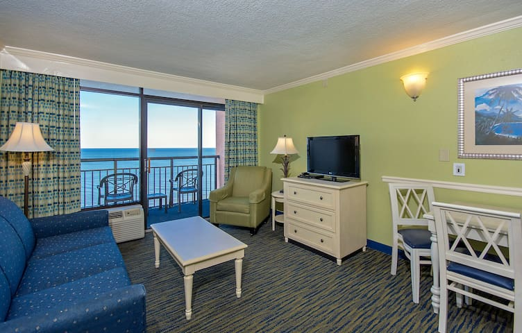Oceanfront Double Suite at the Caribbean Resort