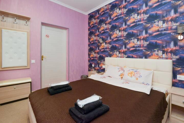 Номер с ванной комнатой на Красносельской