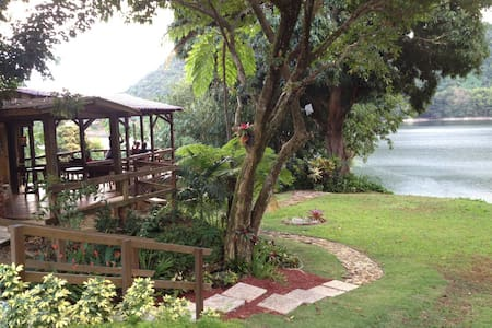 A Lake House Retreat !!! - Utuado - Xalet