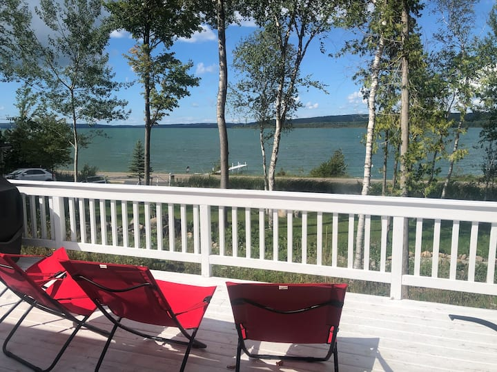 Newly remodeled lakefront home