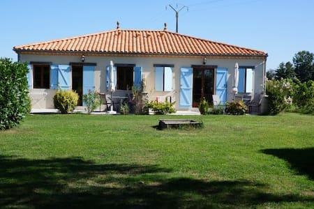Fransk charme, pool, park, Bordeaux - Reignac - Casa