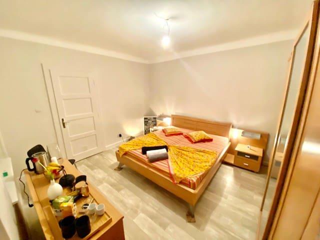 chambre meublée dans une maison de maitre