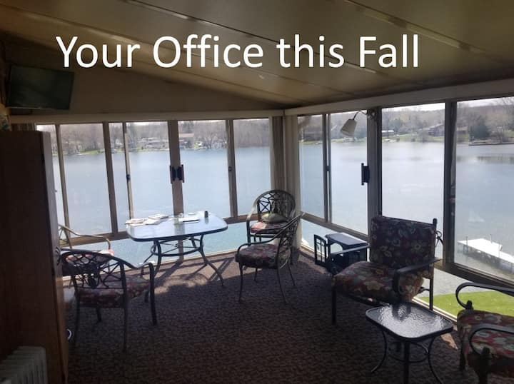 Work Remote From The Lake - ask about longer rents