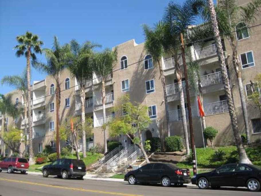 Secure, gated condominium with remote access