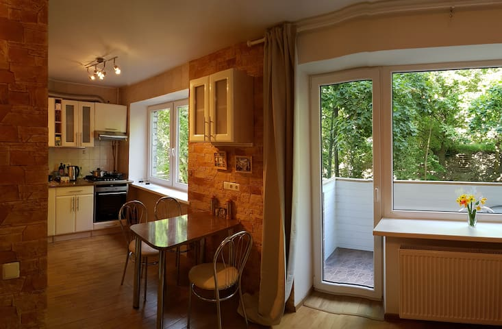 Comfortable Apartment in the Old Town - Vílnius - Pis