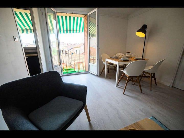 Superbe appartement contemporain T2 Aurillac