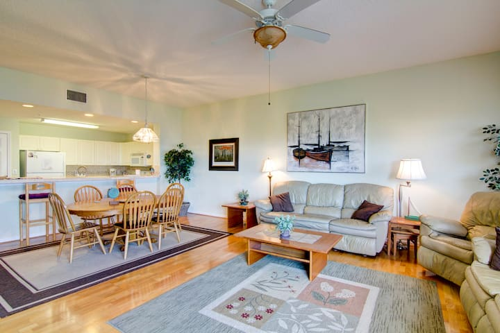 Open and Spacious Oceanview Condo - Fernandina Beach - Appartamento