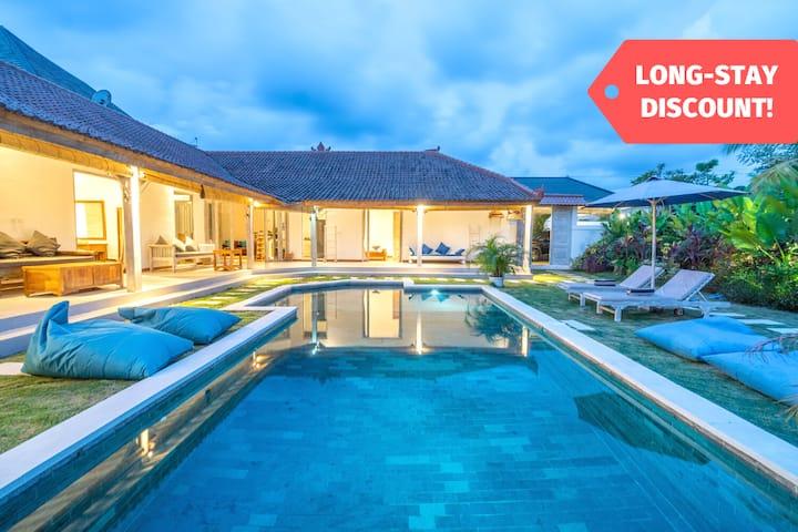 Uluwatu 4BR Charming Villa | LONG STAY DISCOUNT!