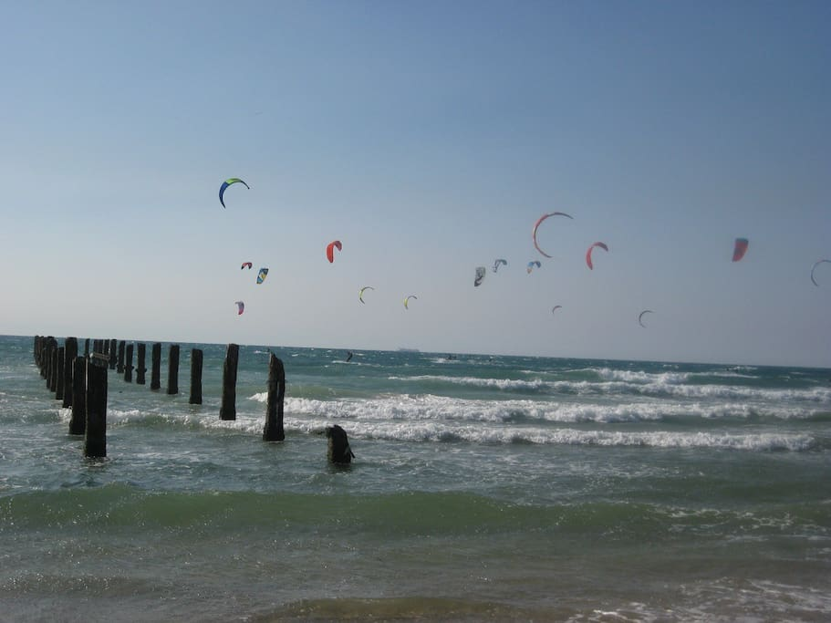 Best Kite Surf Beach  a 5 min walk