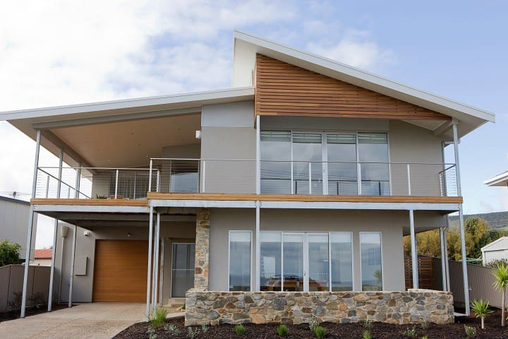 Sea views, luxury, beach, wineries - Sellicks Beach - Hus