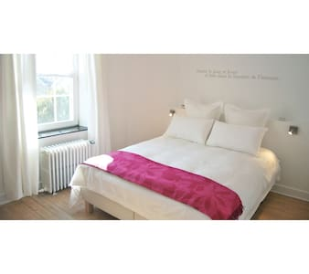 B&B ENTRE DEUX RIVES ANEMONE ROOM - Hamoir - Szoba reggelivel
