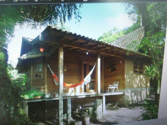 Uma linda cabana. Paz e natureza. - São Francisco De Paula  - Huis
