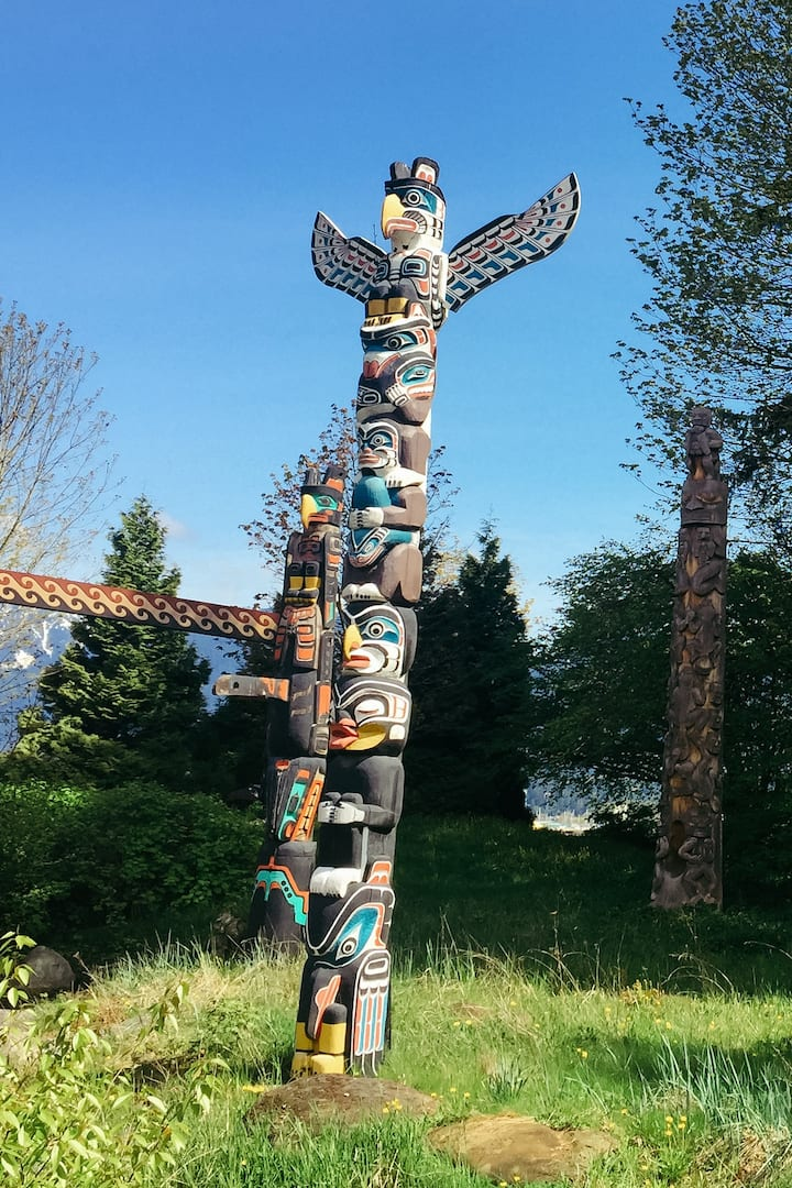 Pacific Northest Totem Pole Stories